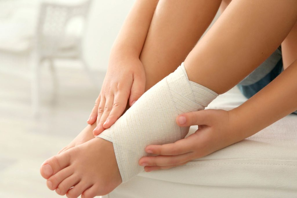 Ankle Sprain: First Aid